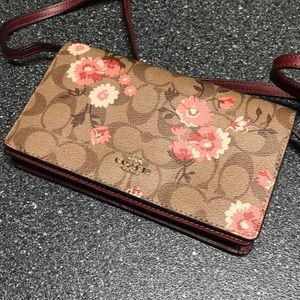 NWOT fold over coach Hayden crossbody